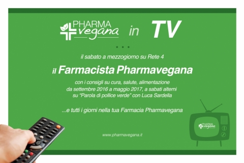 Novità: Pharmavegana in TV su RETE 4