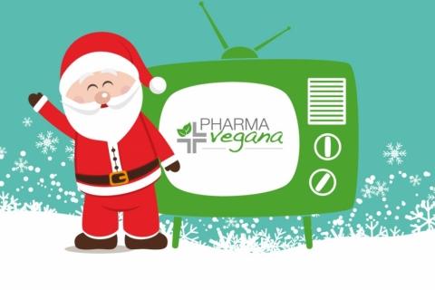 Pharmavegana in TV: in arrivo le puntate natalizie