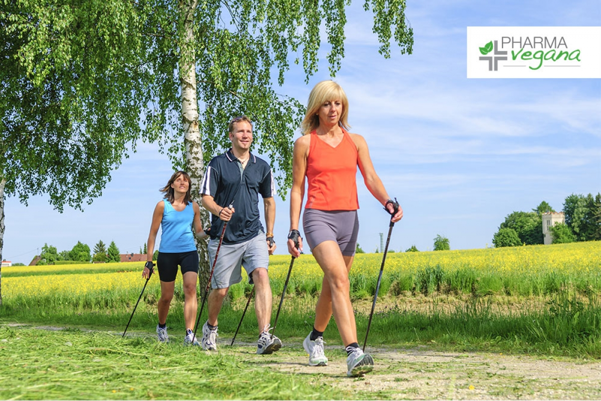 Parte il Nordic Walking Pharmavegana